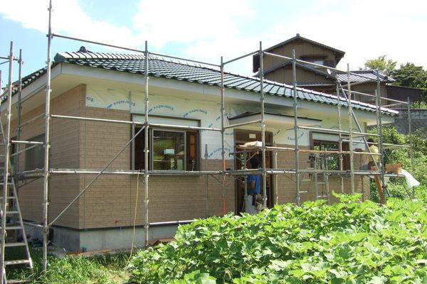 川崎町でのU様邸・新築工事